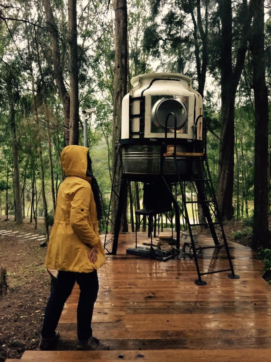 生活誌 村民眼中雨天的山那村