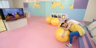 2016綠圈圈─客廳健身房