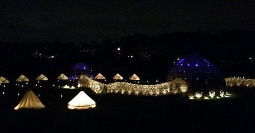 山那村夜景