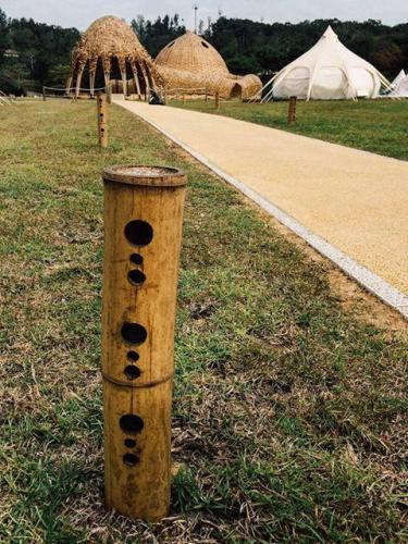 看似簡單的竹燈