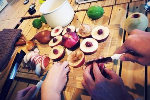 甜桃蘋果果醬