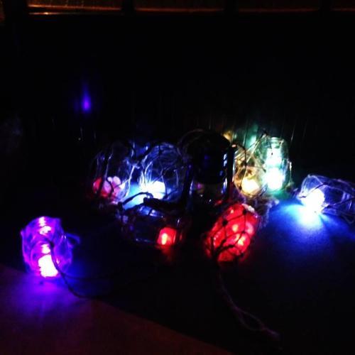 七彩霓虹小燈