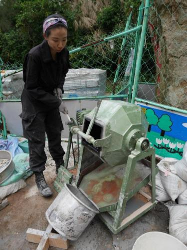 建設誌 山那村的神秘建設 廢棄物的再生利用